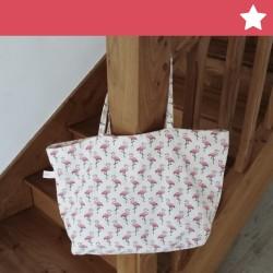 "Mini Tote Bag ""Comme Maman"""
